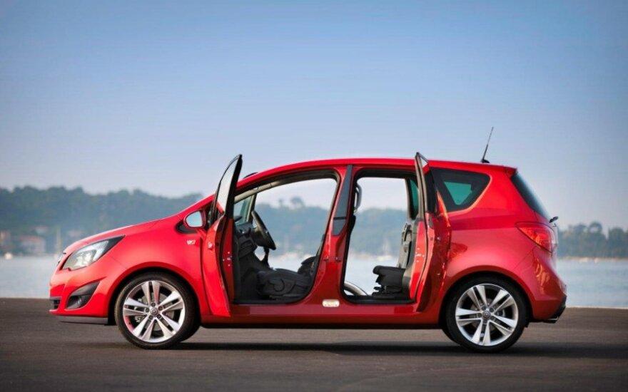 """ADAC statistika: """"Opel Meriva"""" yra geriausias vienatūris"""