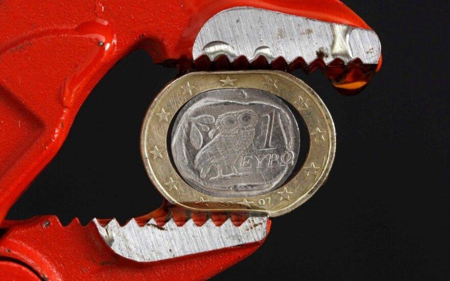 Euro zonos ekonomika kelia galvą