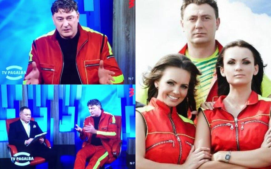 """""""TV Pagalbos"""" vedėjas ir žurnalistas Edgaras/ Stop kadrai ir Delfi"""