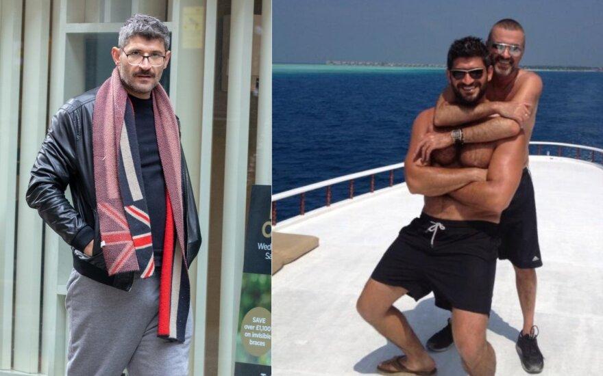 George Michael ir Fadi Fawaz, Fadi Fawaz (kairėje)/ Foto: Vida press, Instagram