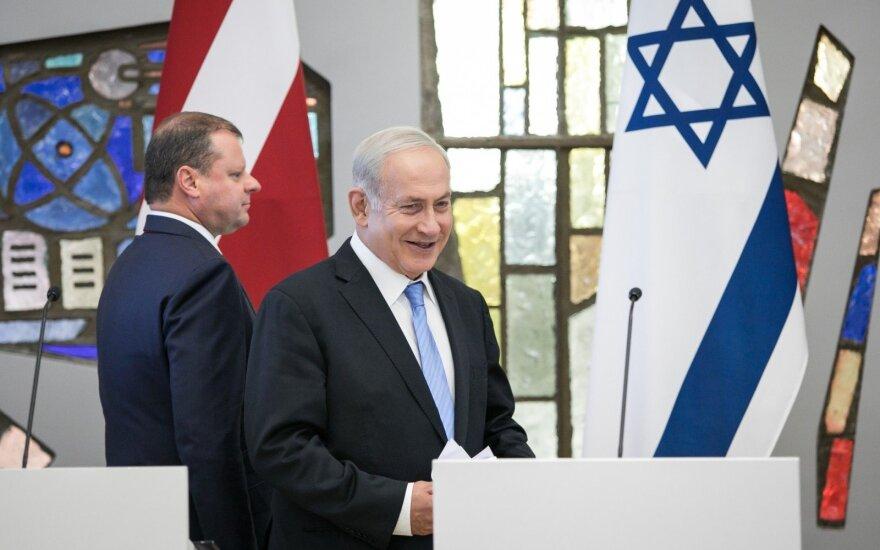 Saulius Skvernelis, Benjaminas Netanyahu
