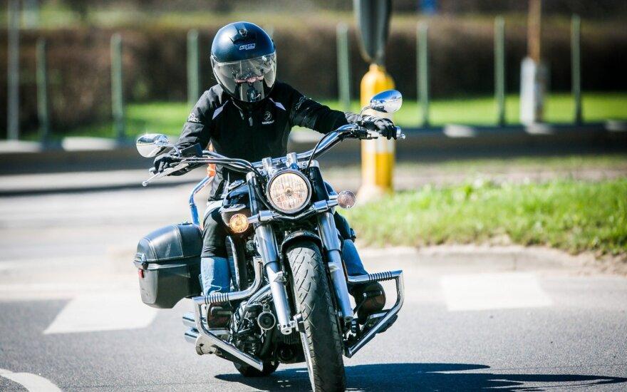 Motociklininkas (asociatyvi nuotr.)