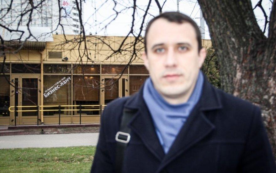 Baltarusių opozicionierius Severinecas turės sumokėti baudą, praleisti už grotų 15 parų