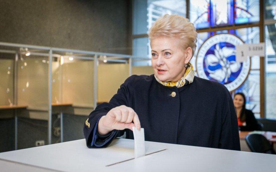 VRK: Grybauskaitės kalboje per rinkimus apie Skvernelį agitacijos nebuvo
