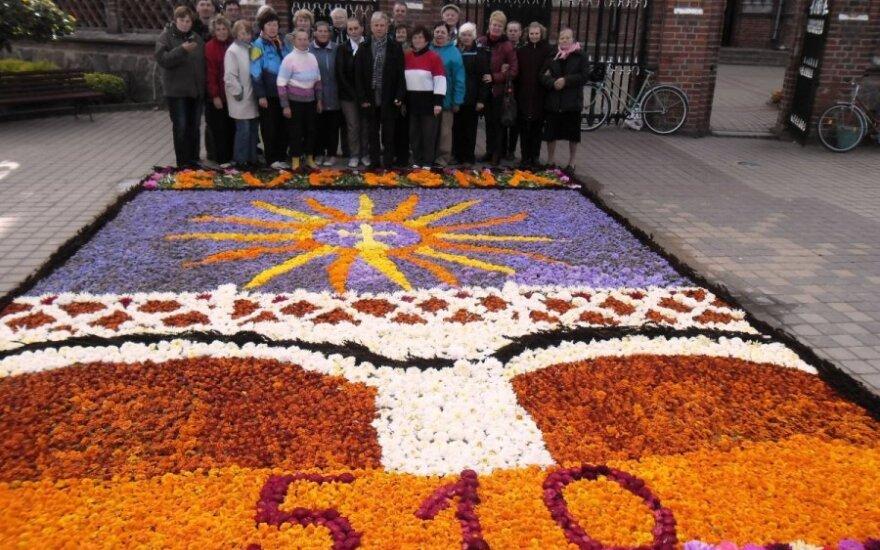Švėkšnos gėlių kilimas