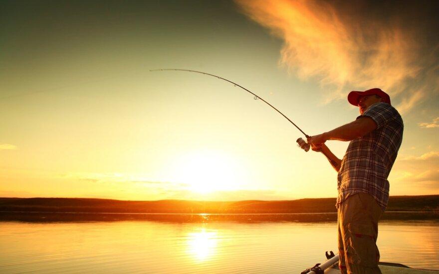 Svarbi žinia žvejams: įsigaliojo patikslinta limituotos žvejybos tvarka
