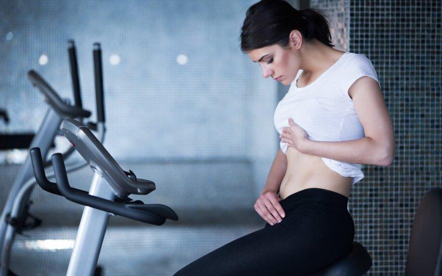 Kaip atsikratyti pilvo riebalų?