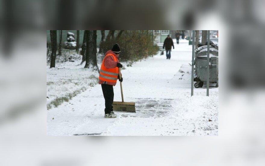 Savaitgalį žiema iš Lietuvos nesitrauks