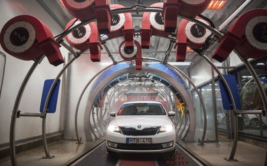 Kaune atidaryta nauja tunelinė automobilių plovykla