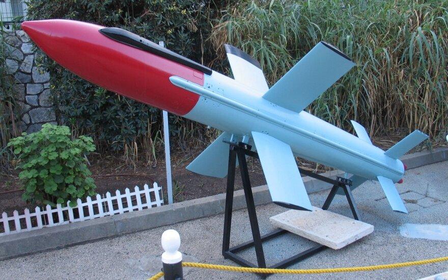 IAI Gabriel priešlaivinė raketa / Aerospece nuotr.
