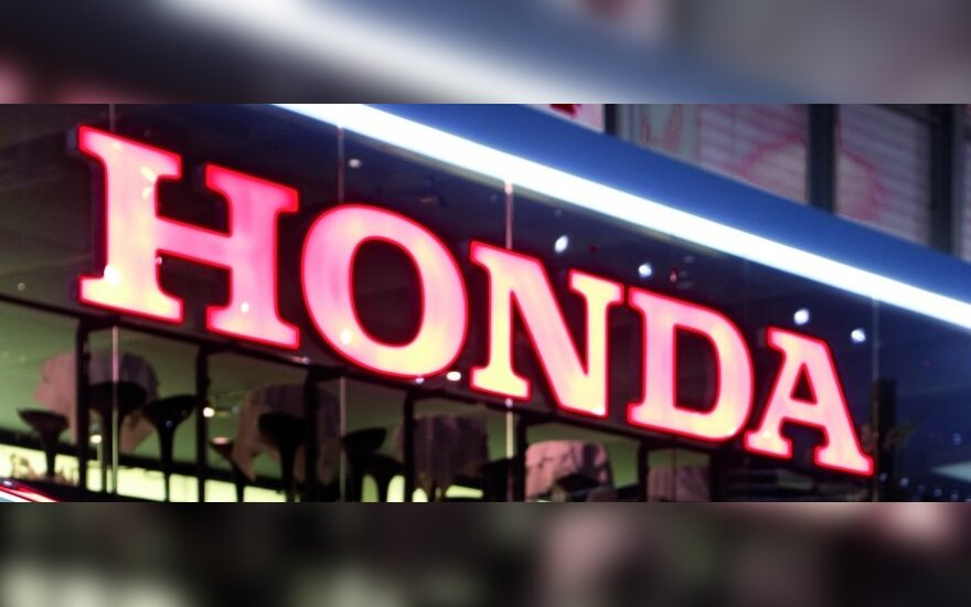 """""""Honda"""" atšaukia dar apie 833 tūkst. automobilių"""