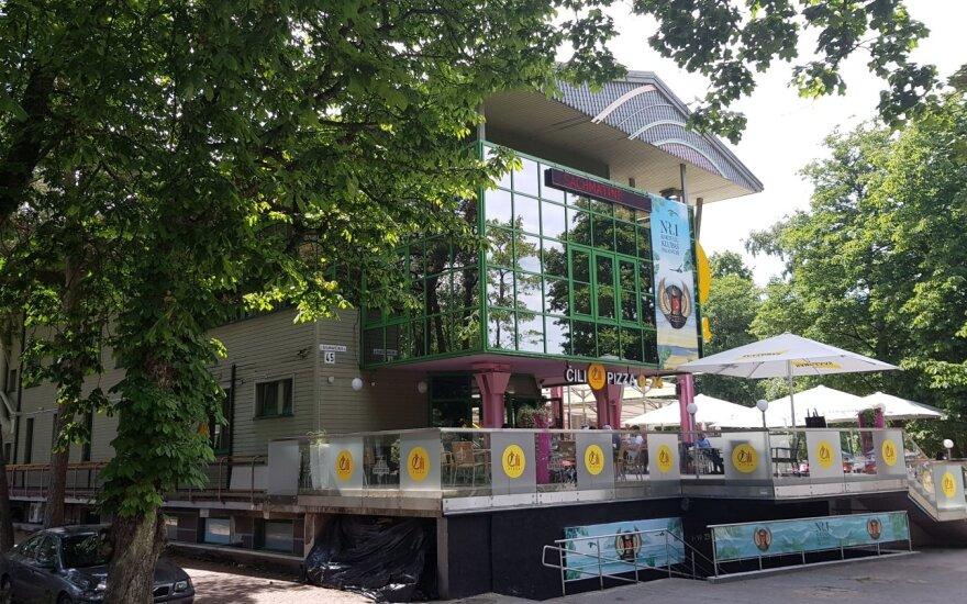 Ant prekystalio – legendinė Palangos kavinė