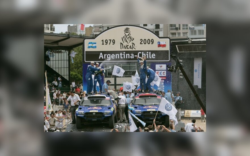 """Dakaro"" maratonui – naujas ""VW Touareg"""