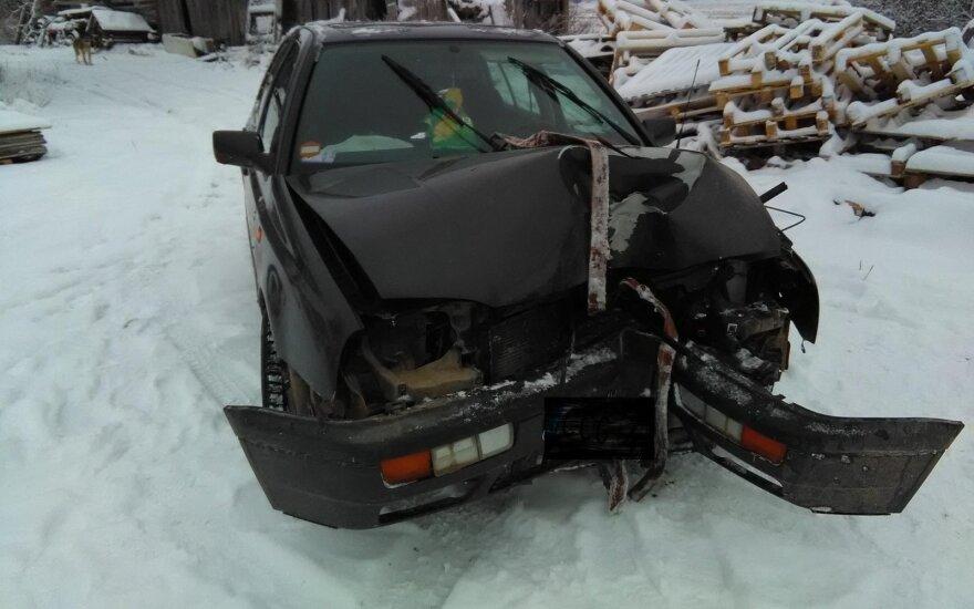 Po avarijos sprukęs vairuotojas surastas girtas, jam gresia prarasti laisvę