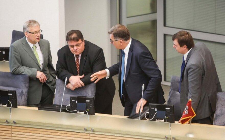 Lithuanian Government representatives