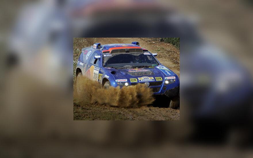 Carlosas Sainzas Dakaro ralyje