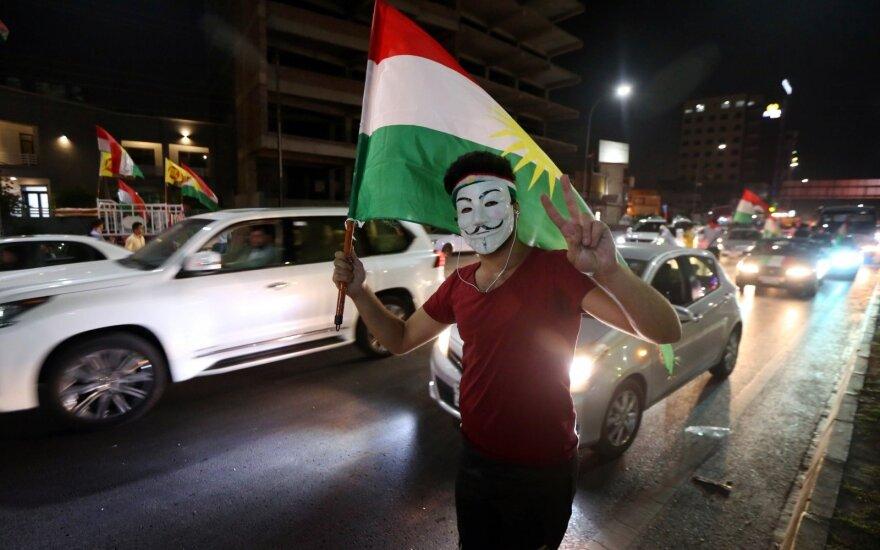 JAV pritaria Irako kurdų lyderio N. Barzani atsistatydinimui