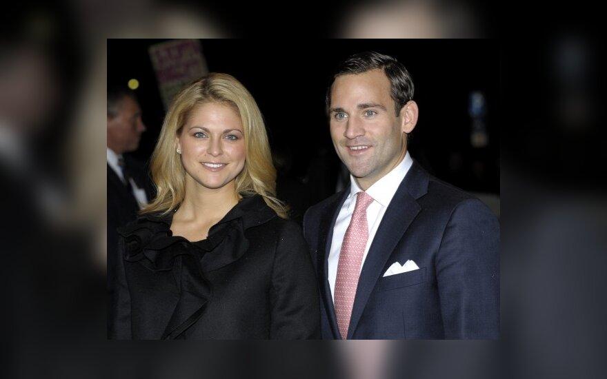 Švedijos princesės vestuvės atšauktos dėl jaunikio meilės nuotykių