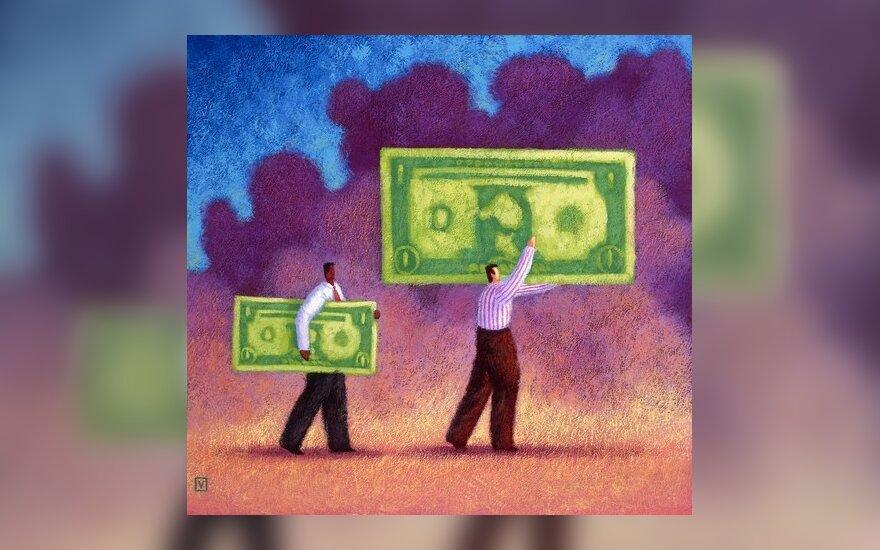 Atlyginimas, mokėjimas, pinigai, uždarbis