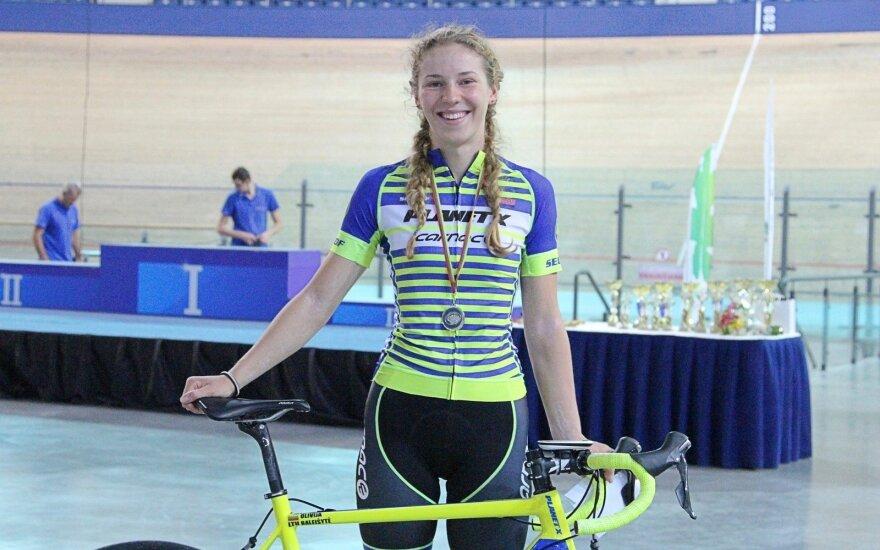 Olivija Baleišytė pasaulio taurės varžybose Kanadoje užėmė aštuntąją vietą