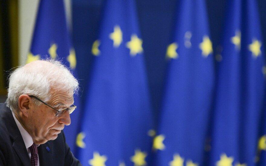 Borrellis: ES gali parengti penktą sankcijų Baltarusijai paketą