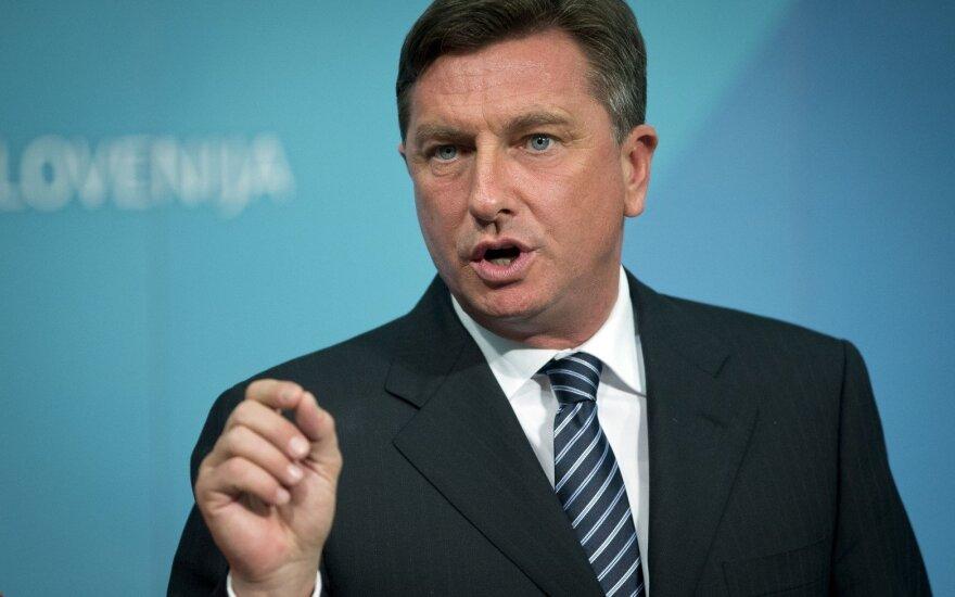 Slovenian President, Borut Pahor