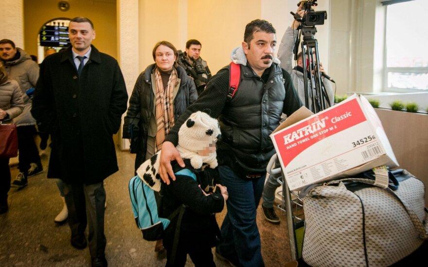 E. Jankevičius: mes niekada nežadėjome pabėgėliams suteikti statusą