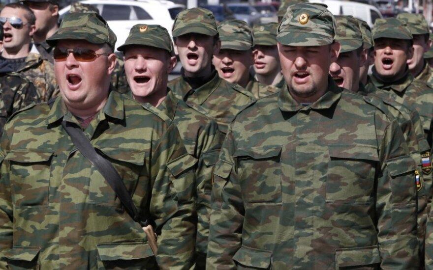 Iš Ukrainos nacionalinės gvardijos – ultimatumas