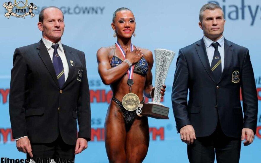 Virginija Kaminska / FOTO: IFBB.lt