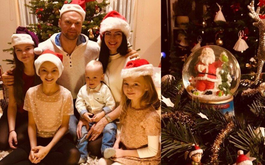 Kristupo Krivicko šeimos kalėdinė eglutė ir dekoracijos