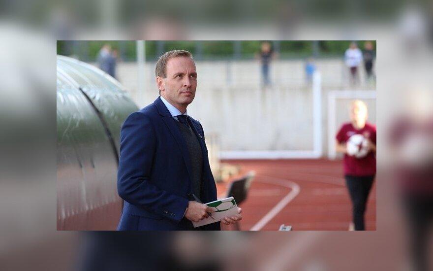 Lietuvos futbolo jaunimo rinktinė palaužė Kipro klubą