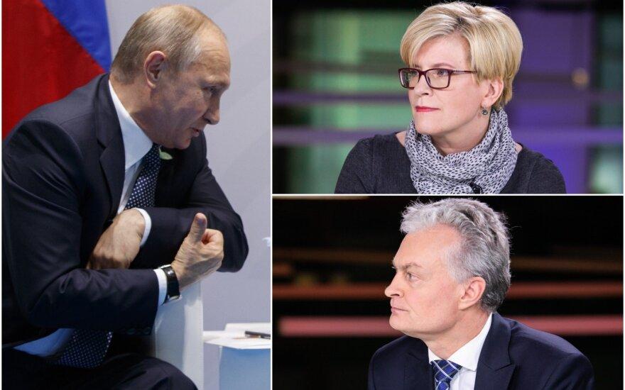 Apklausė gyventojus: atsakymas, ar susitikti su Putinu, abiem kandidatams nepatiktų