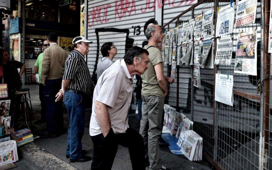 Graikija priėjo liepto galą