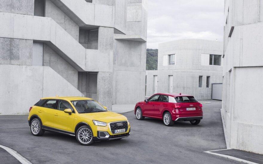 """Teigiama, kad pirmoji kregždė liberalesnių dizaino sprendimų link buvo """"Audi Q2"""""""