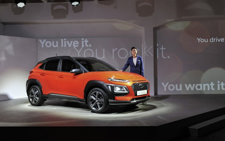 """""""Hyundai Kona"""" pristatymas"""
