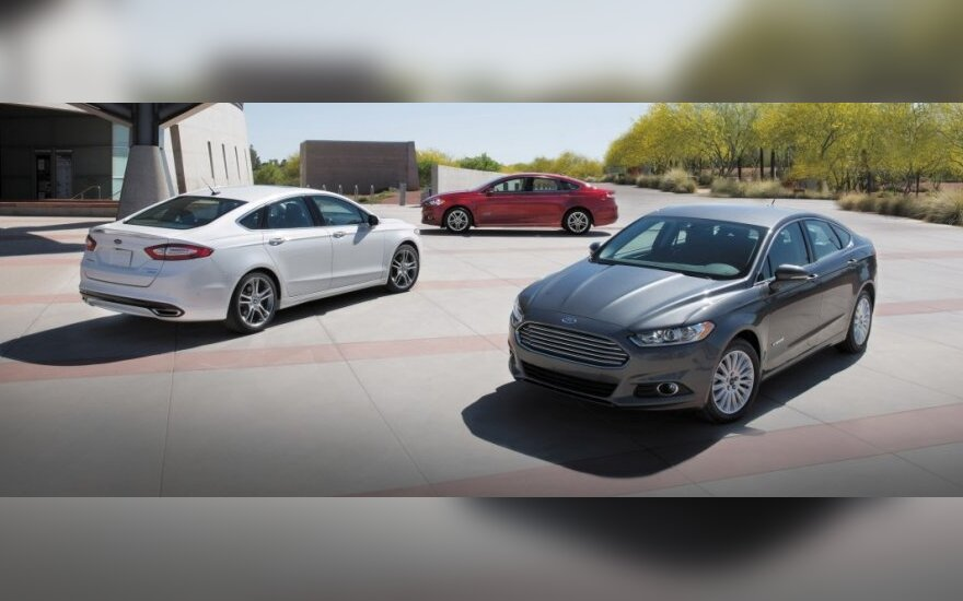 Amerikietiškas Ford Fusion