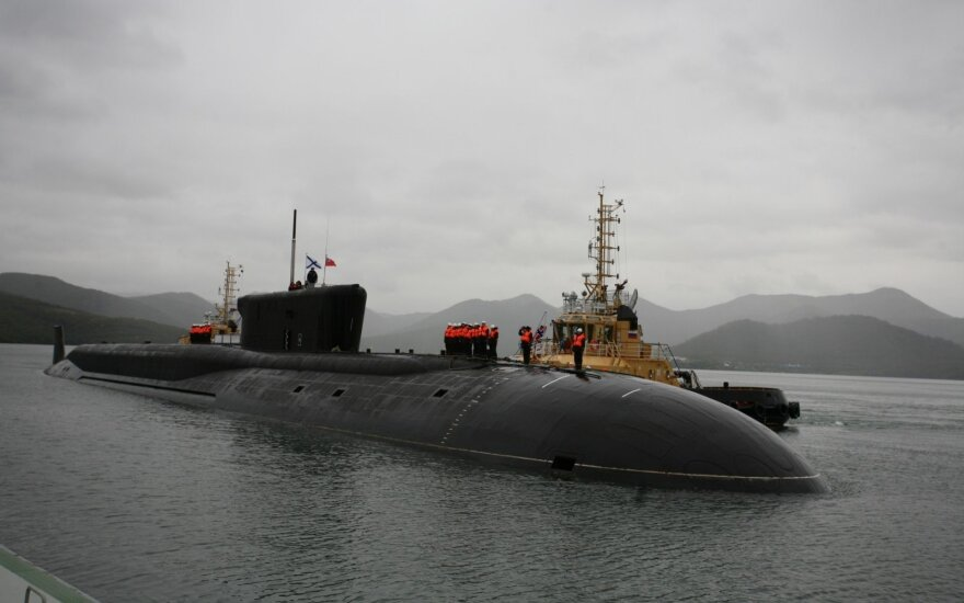 Šaltinis: Rusija ruošia grėsmingus povandeninius laivus