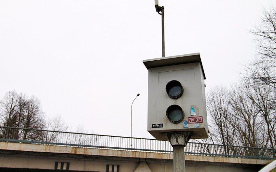 Senai regėtas įžūlumas Klaipėdoje: apgadintas greičio matavimo prietaisas