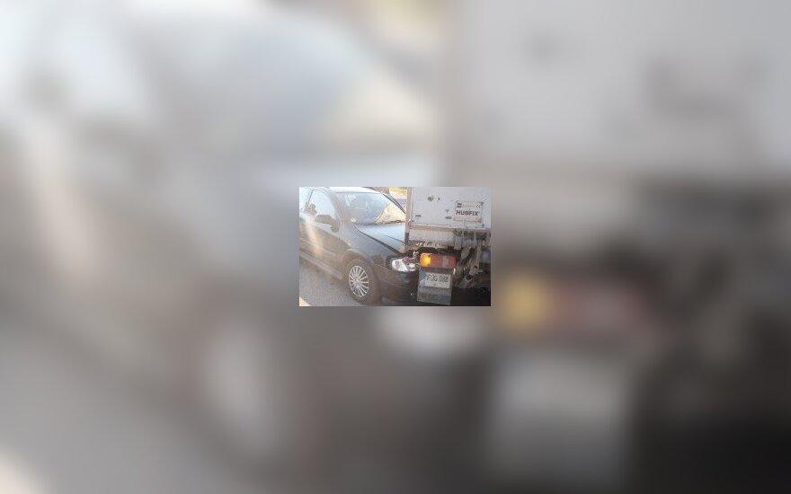 Ukmergėje per avariją sužalotos dvi garbaus amžiaus moterys