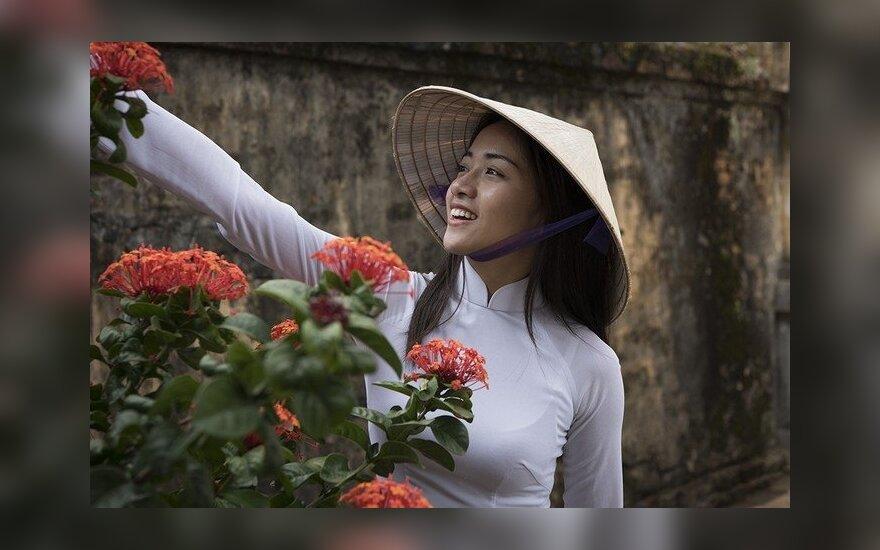 Parodė, kaip atrodo Vietnamo moterų grožis