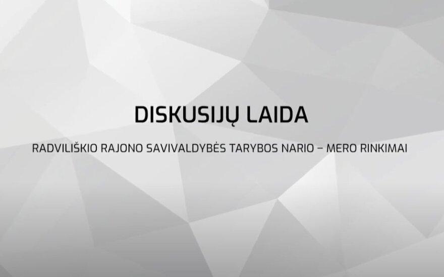 Radviliškio rajono savivaldybės tarybos nario – mero rinkimų diskusijų laida