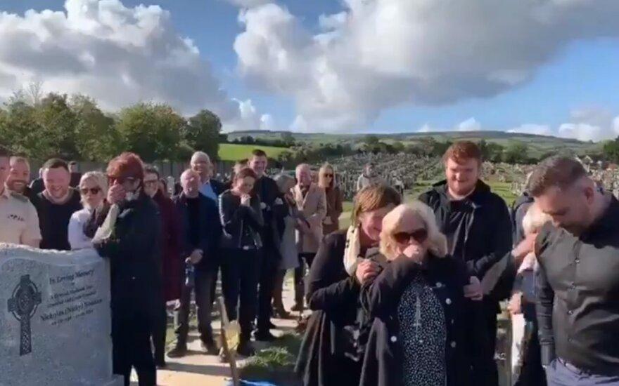 Shay Bradley laidotuvės