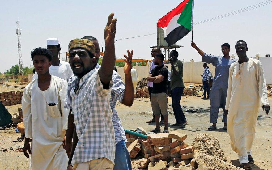 Protestas Sudane