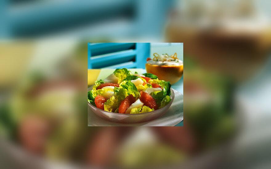 Greipfrutų salotos
