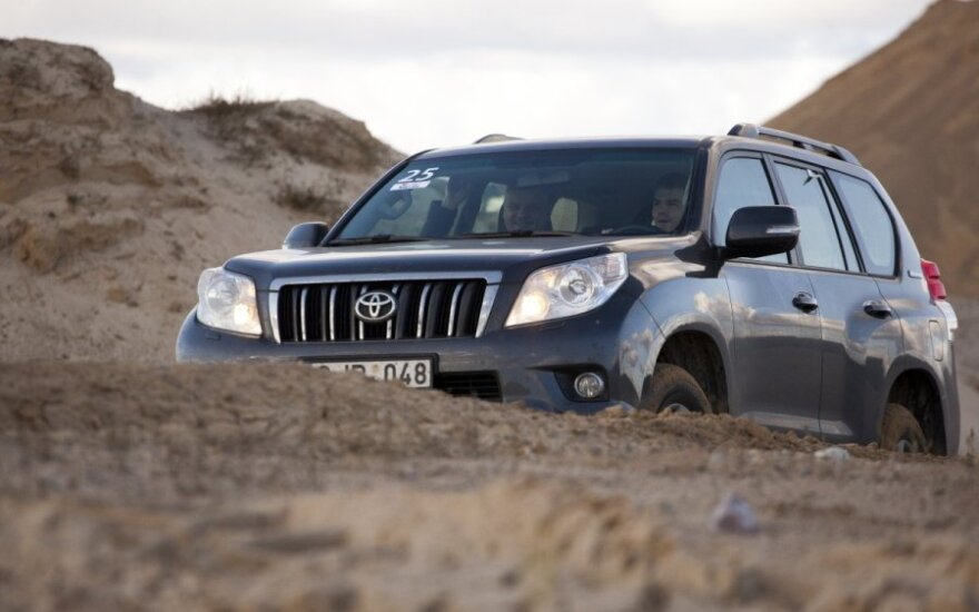 Toyota Land Cruiser visureigių žygis