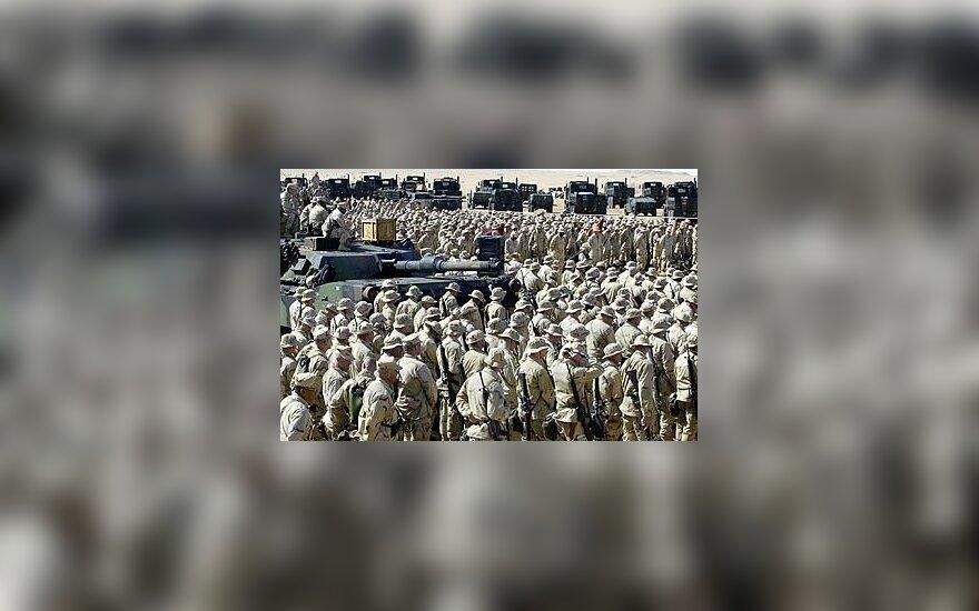 JAV jūrų pėstininkai, kariuomenė