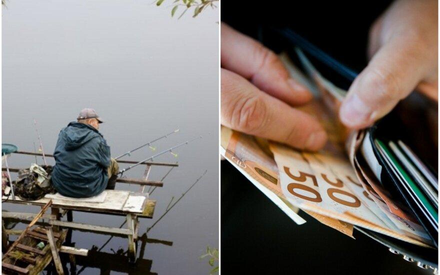 Už žvejybos pažeidimus laukia didelės baudos