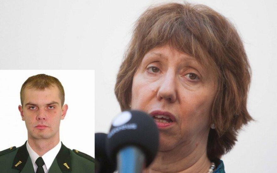 Audrius Šenavičius, Catherine Ashton