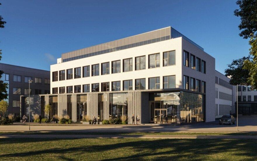 Vietoje legendinės Kauno spaustuvės atidarytas multifunkcis verslo parkas