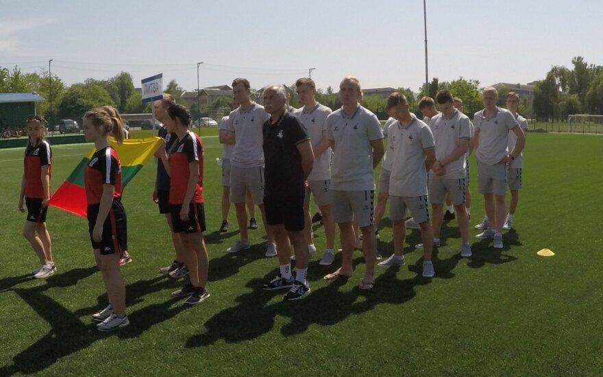 Lietuvos studentų futbolo rinktinė / Foto:LSFL